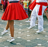 Catalan Spanish Dance Royalty Free Stock Images