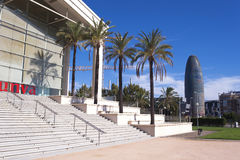 Catalan theater Barcelona Stock Image