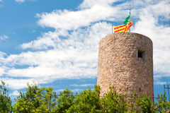 Catalan tower Royalty Free Stock Photos