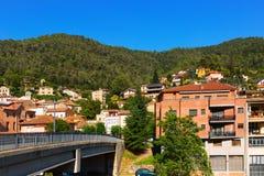 Catalan town  in  Pyrenees. Figaro Royalty Free Stock Photos