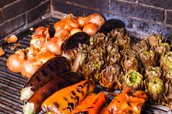 Catalan vegetable grill Royalty Free Stock Photos