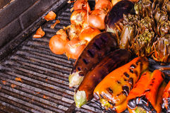 Catalan vegetable grill Royalty Free Stock Image