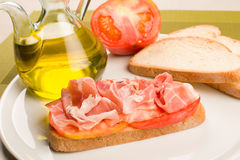 Catalana  bread Stock Photography