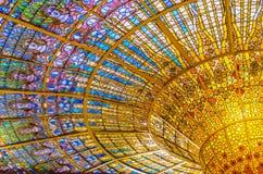 catalana De Los angeles Musica Palau Zdjęcie Stock