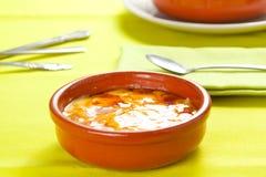 Catalana heerlijk typisch Spaans dessert van Crema Royalty-vrije Stock Fotografie