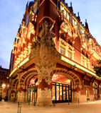 The Catalana Music Hall in Barcelona Royalty Free Stock Images