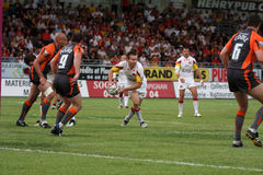Catalans Dragons vs Hull KR Stock Photos