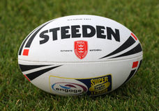 Catalans Dragons vs Hull KR Stock Photo