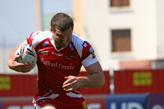 Catalans Dragons vs Salford City Reds Royalty Free Stock Photo