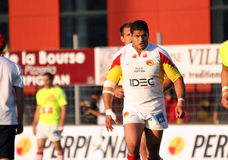 Catalans Dragons vs Salford City Reds Royalty Free Stock Photography