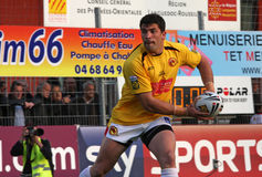 Catalans Dragons vs Salford Reds Royalty Free Stock Images