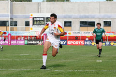 Catalans Dragons vs St Helens Royalty Free Stock Photography