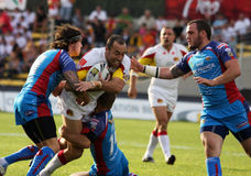 Catalans Dragons vs Wakefield Wildcats Royalty Free Stock Photo