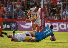 Catalans Dragons vs Wakefield Wildcats Stock Photography