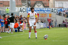 Catalans Dragons vs Wakefield Wildcats Stock Image