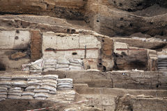 Catalhoyuk Konya (Turkey). Built in 7500 B.C. Royalty Free Stock Image