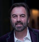 Catalin Mireuta alla cerimonia di premi di Cluj di commedia Immagini Stock