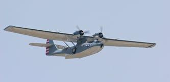 Catalina łodzi latać Obraz Royalty Free