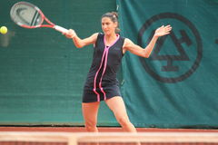 Catalina Castano - Sparta Prague open 2012 Stock Photography