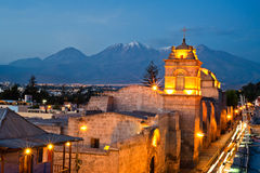 Catalina convent arequipa Royalty Free Stock Image