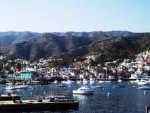 Catalina Harbour Fotografering för Bildbyråer