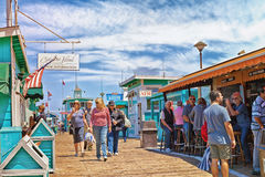 Catalina Island Avalon Pier Stock Photography