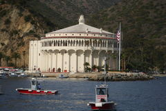 Catalina Island Casino Restoration Stock Photography