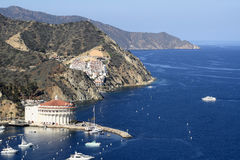 Catalina Island Coastline Photographie stock