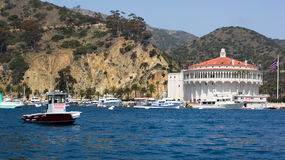 Catalina Island Harbor Patrol Royalty Free Stock Photos