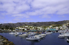 Catalina Island harbor Stock Photos