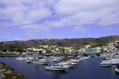 Catalina Island harbor Stock Photos