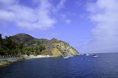 Catalina Island harbor Stock Photo