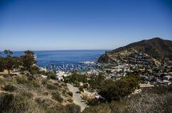 CATALINA ISLAND LANDSCAPE royalty free stock photos