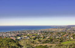 Catalina Island from San Clemente Royalty Free Stock Photography