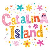 Catalina Island illustration stock