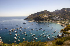 CATALINA ISLAND VIEW Royalty Free Stock Photo