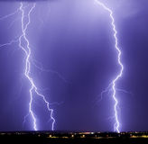 Catalina Lightning Strikes Royalty-vrije Stock Fotografie