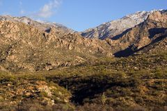 Catalina Mountains, Tucson Arizona USA Stock Photography