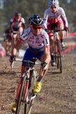 Catalina Nash - favorable corredor de Cyclocross de la mujer Foto de archivo