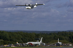 Catalina. From Rygge Airshow in Norway 2009 royalty free stock image