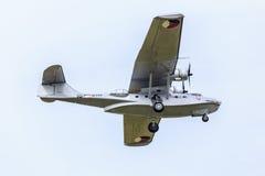 Catalina sjöflygplan Arkivfoto