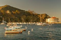 Catalina Sunset στοκ εικόνες