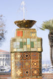 Catalina Tiled Fountain Royalty Free Stock Image