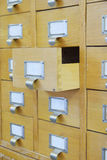 Catalog boxes Stock Image