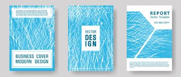 Catalog cover vector templates. vector illustration