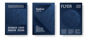 Catalog cover vector templates. stock illustration