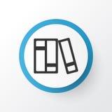 Catalog Icon Symbol. Premium Quality Isolated Bookshelf Element In Trendy Style. Royalty Free Stock Photography