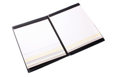 Catalog paper sheet Royalty Free Stock Photo