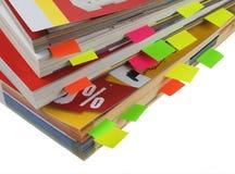 Cataloghi Fotografie Stock Libere da Diritti