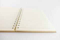 Catalogo in bianco, rivista, modello del libro con le ombre molli aspetti Immagini Stock Libere da Diritti